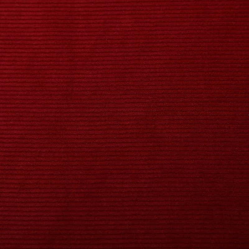 Tela Jacquard de Pana Holandesa Roja de Tejido de Casa de Poliéster de Buen Precio