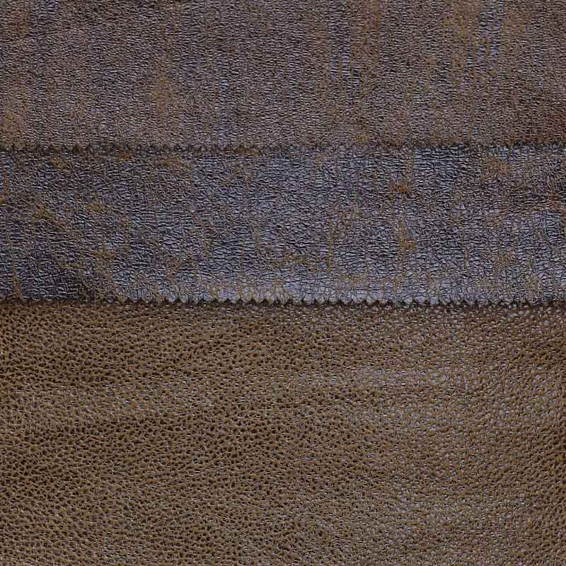 Tela Bronceada de Cuero de Gamuza Enlazada de Lujo de Nuevo Diseño para Sofá